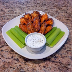 Organic Buffalo Chicken Wings