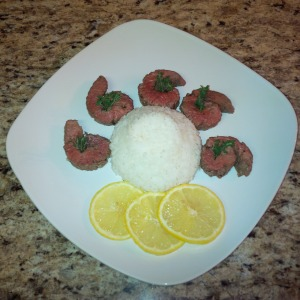 organic-lemon-thyme-sirloin-with-jasmine-rice